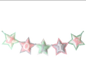 Name Garland with stars