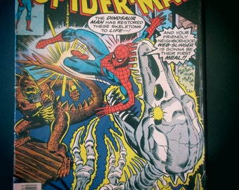 Amazing Spider-man #165 Marvel Comics 1977 VS. Stegron