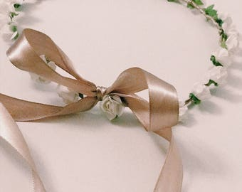 Super cute flower crown | princess | girls |bridesmaid | flowergirl | spring/summer | festival headwear |
