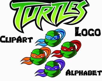Alphabet svg turtle ninjas,fonts,letter,silhouette,cricut,png,eps,ai,dxf,svg,monogrm fonts,turtle ninjas svg