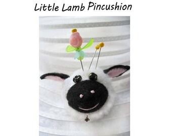 Little Lamb Finger Pincushion Kit