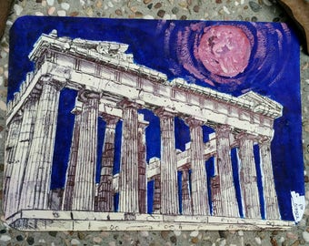 Parthenon Illustration