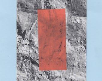 orange and paper
