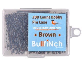 200 Count Bobby Pin Pack by Bullfinch
