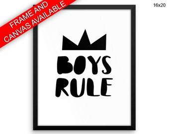 Boys Prints  Boys Canvas Wall Art Boys Framed Print Boys Wall Art Canvas Boys Boys Room Art Boys Boys Room Print Boys Room Decor Nursery