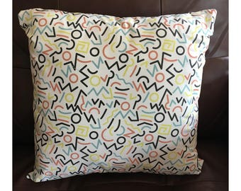 Multicolored Pastel Pillow