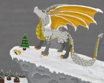 Christmas/Winter Dragon