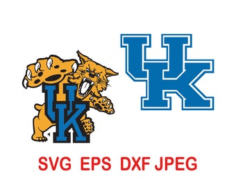 Kentucky Wildcats.svg,eps,dxf,png.