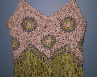 Crochet Boho Crop Top