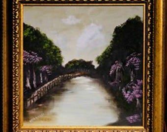 "Original Artwork - Landscape - ""The River"""