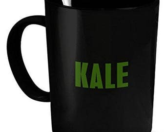 Kale Coffee Mug, Kale Mug, kale gifts, gift for Kale