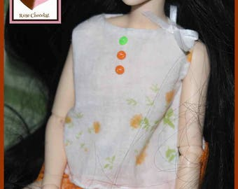 Minifee girl garment MSD doll top
