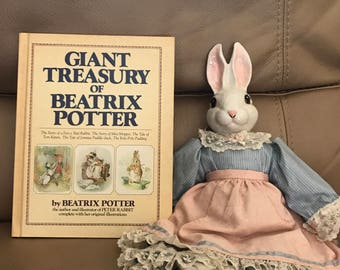 1984 Edition, Giant Treasury of Beatrix Potter - Compilation Book
