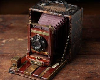 The Century Camera, Model No. 46 (over 100 years old!)