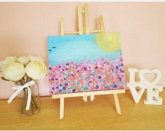 Original Acrylic Painting 'Wild Flowers'