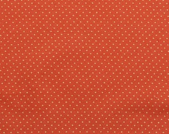 Autumn Inspirations // Pin Dot Rust Met Harvest Fabric // Half Yard