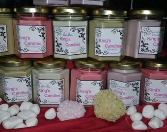 12oz soy wax candle (summer scents