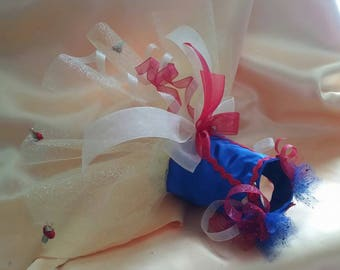 Snow White Inspired Tutu Custom Made to Your Measurements up to 18 inch girth