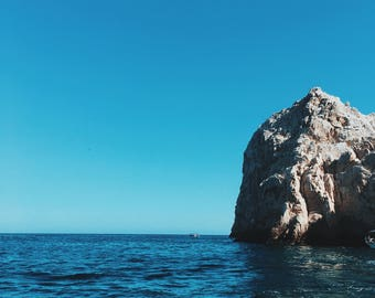 Photography, Sea of Cortez Print, Cabo San Lucas, Mexico, Ocean Photography, Wall Art, Instant Download
