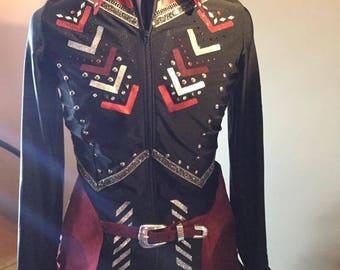 Navajo Western Showmanship, Horsemanship, Pleasure show Shirt Medium