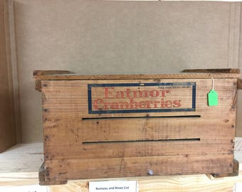 Eatmor Cranberries Crate