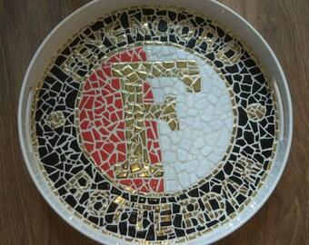 Feyenoord Logo Mosaic Tray