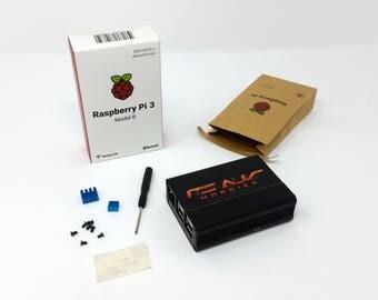 Raspberry Pi + Aluminum case