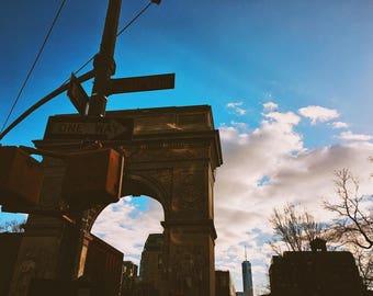 The Arch at Washington Square Park