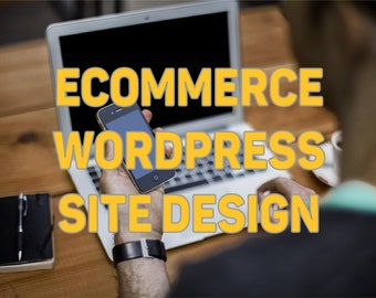 WordPress Website Design | E-commerce | 5 to 20 Pages | Free Consultation | Custom Website