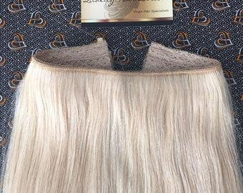 NEW for 2017!!! Custom Made Flexible Wire Hair Extensions Halo Style Flip In (Various colours)