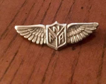 vintage Sterling silver pin