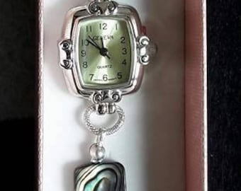 Paua mother of Pearl watch