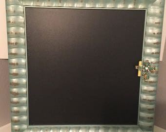 Repurposed Antique Chalkboard Frame