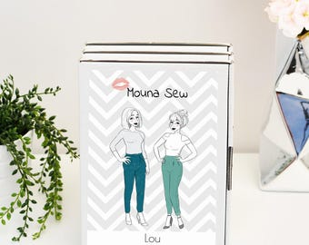 Lou pants sewing pattern