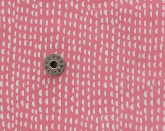 FAT EIGHTH Pink and White Quilting Cotton Fabric | Just Another Walk in the Woods by Stacy Iest Hsu for Moda
