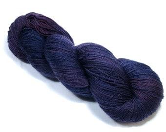 Purple Abyss Sock Yarn