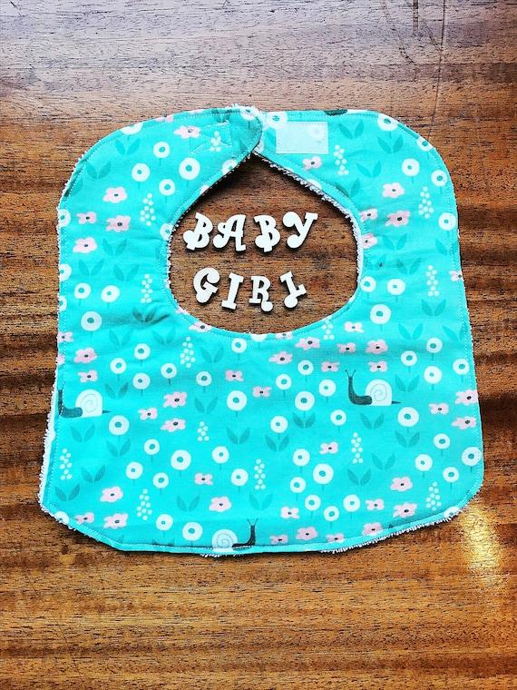 Organic Baby Bib, Baby Girl Bib, Park Life Bib, Baby Shower Gift, Drool Bib, Baby Girl Gift