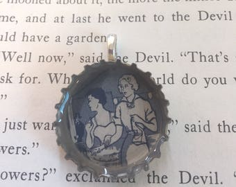 Bottle Cap Pendant - Investigation