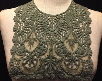 Bib Crochet Design Applique