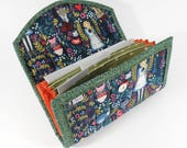 COUPON / EXPENSE / RECEIPT Organizer - Wonderland - Coupon Organizer Coupon Holder Cash Budget Alice