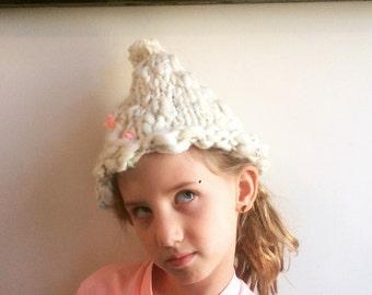 Sparkly Snow Hat