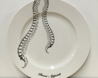 Spinal Cord Bone Appetit 12 inch Serving Platter