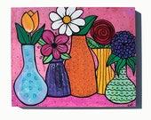 Flower Still Life Paintin...