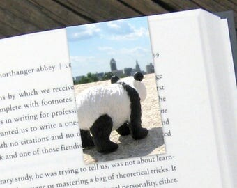 Panda Adventure Magnetic Bookmark