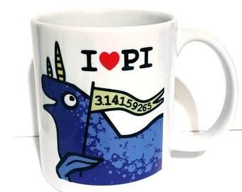 I love  PI - monster mug