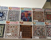 Quilters Newsletter Magazine 2004 - 10 Issues