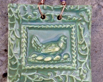 Sage Chicken Tile