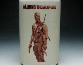 The Walking Deadpool cup
