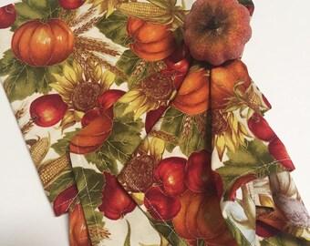 Fall Napkins, Harvest Napkins, Thanksgiving Napkins