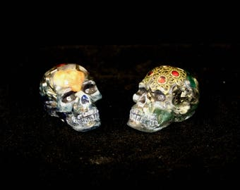 Two Orgone Energy Skulls and one of them is Glow In The Dark. Too cool